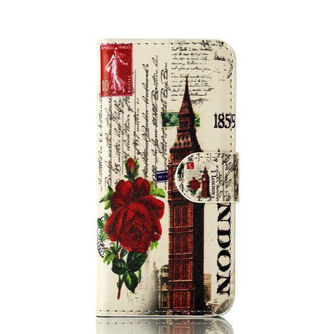 Rose Eiffel Tower Painting Iphone 5 Case