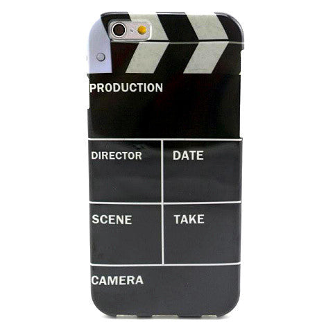Clapperboard TPU Case for iPhone 6 Plus - BoardwalkBuy