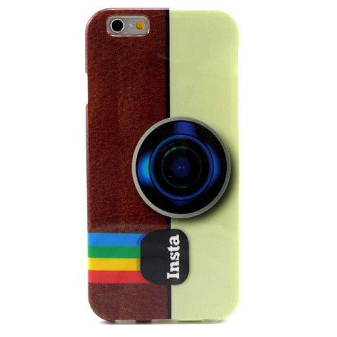 Camera Retro TPU Case for iPhone 6 Plus - BoardwalkBuy