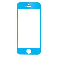 iPhone 5 Premium Shock Proof Tempered Glass Screen Protector Cover sky blue - BoardwalkBuy - 2