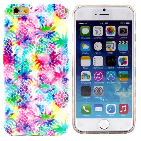"Colorful TPU Case for iPhone 6 4.7"" - BoardwalkBuy - 1"
