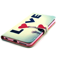 Card Slot Leather Case for iPhone 6 - BoardwalkBuy - 3