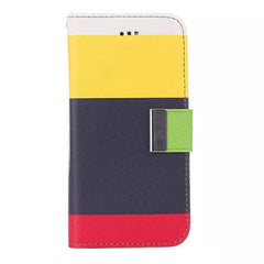 Rainbow Stand Leather Case for iPhone 6 - BoardwalkBuy - 1