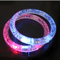 LED light-emitting armband flash safety warning outdoor sporting bracelet - BoardwalkBuy - 8