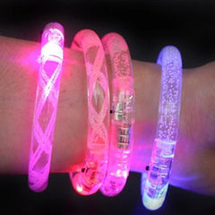 LED light-emitting armband flash safety warning outdoor sporting bracelet - BoardwalkBuy - 4