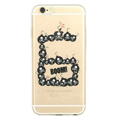 Skeleton Bomb TPU Case for iPhone 6 4.7 - BoardwalkBuy