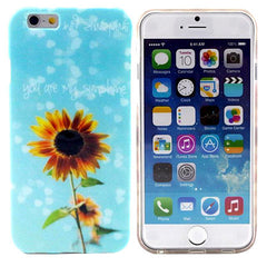 "Sun Flower TPU Case for iPhone 6 4.7"" - BoardwalkBuy - 1"
