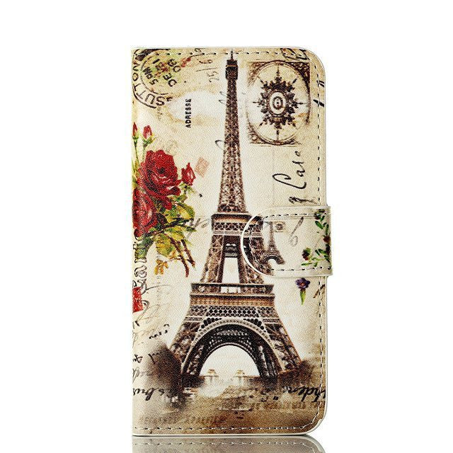 Mail Eiffel Tower Painting iPhone 5 Case - BoardwalkBuy - 1