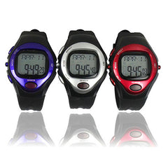 Heart Rate Monitor Watch - Assorted Colors - BoardwalkBuy - 2