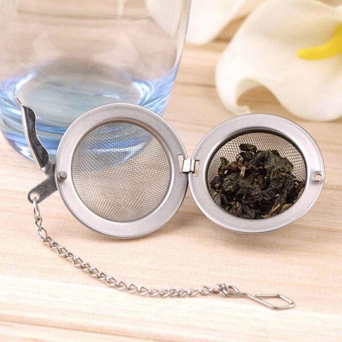Stainless Steel Metal Tea Ball Infuser - BoardwalkBuy - 1