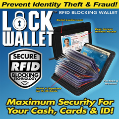 Lock Wallet - As Seen On TV - BoardwalkBuy - 2