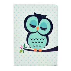 Sleeping Owl Leather Stand Case For iPad Air - BoardwalkBuy - 3