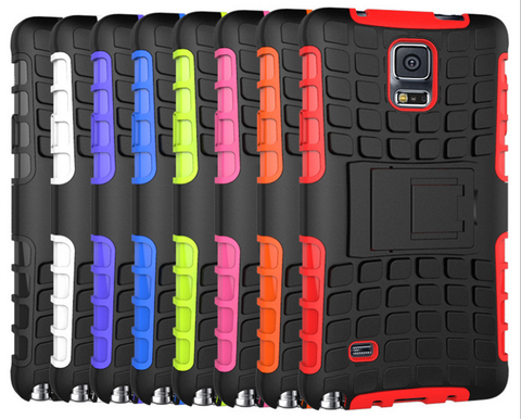New Hybrid Armor Case For Samsung Note 4