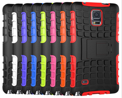 New Hybrid Armor Case for Samsung Note 4 - BoardwalkBuy - 1