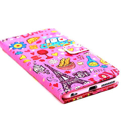 Cartoon Stand Leather Case for iPhone 6 - BoardwalkBuy - 3