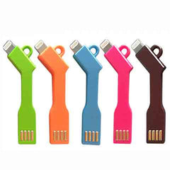 key usb cable for iphone 5/6/6plus - BoardwalkBuy - 1
