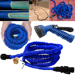 Expandable Garden Hose - Up to 100' - BoardwalkBuy - 1
