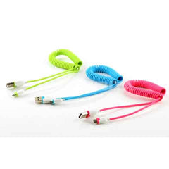 Universal Android spring retractable USB cable - BoardwalkBuy - 3
