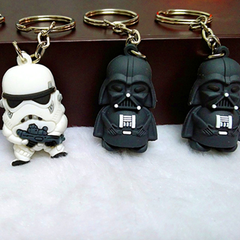 Mini Star Wars Action Figure Keychain - Darth Vader or Stormtrooper - BoardwalkBuy - 2
