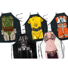 Retro Star Wars Cooking Aprons - Assorted Styles - BoardwalkBuy - 2