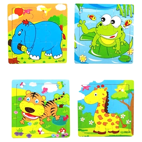 Kids' Animal Jigsaw Puzzles