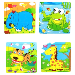Kids' Animal Jigsaw Puzzles - BoardwalkBuy - 1