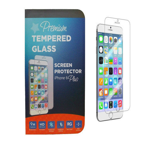 Premium Tempered Real Glass Anti- Scratch Screen Protector For iPhone 6 Plus - BoardwalkBuy - 1