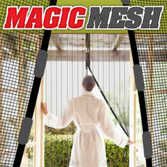 Magic Mesh Magnetic Screen Door Cover - As Seen On TV - BoardwalkBuy - 2