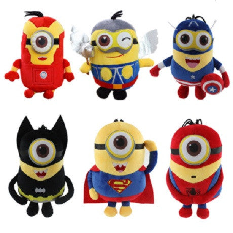 Minions Cosplay Super Heroes Action Figure Toys