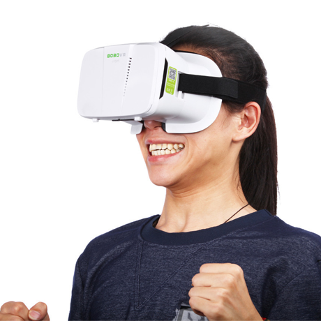 3D Vr Glasses Virtual Reality Head Mount For 4 - 6 Smartphones