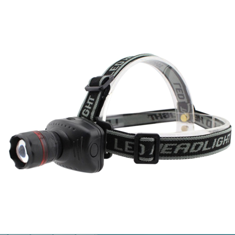Adjustable Mini LED Headlamp with 3 Modes and Zoom - BoardwalkBuy - 1
