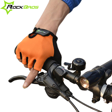 RockBros Half-Finger Gel Cycling Sports Gloves - Assorted Colors & Sizes - BoardwalkBuy - 1