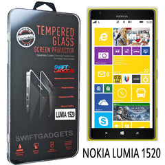 Real Tempered Glass Anti-Scratch Screen Protector Guard For Nokia Lumia 1520 - BoardwalkBuy - 3