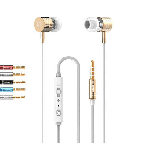LANGSTON  Stereo Bass Metal Earphone - BoardwalkBuy - 1