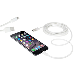 Two 10-Foot Cables for iPhone 4/5/6 and Android - BoardwalkBuy - 5