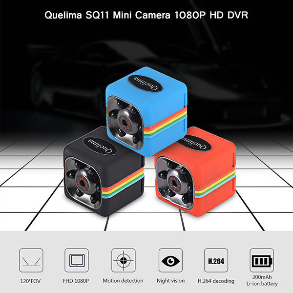 Mini Camera 1080P Hd Dvr With Night Vision