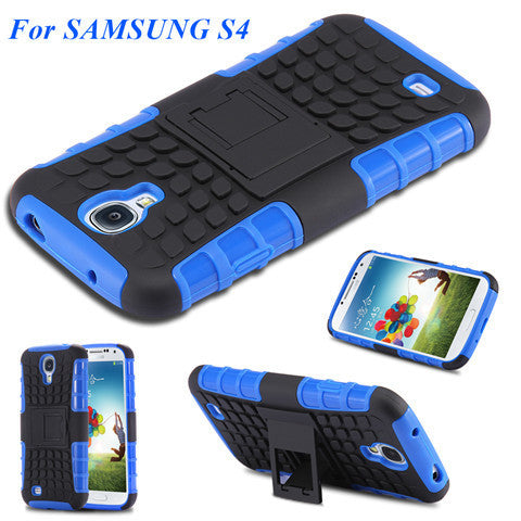 Hybrid Armor Case for Samsung S4 I9500 - BoardwalkBuy - 1