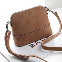 Woman Retro matte Pibei shell handbag - BoardwalkBuy - 8