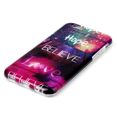Believe Love hard case for iphone 6 plus 5.5 inch - BoardwalkBuy - 3