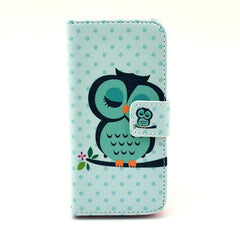 Paint Leather iPhone5 Case Shipping Cat - BoardwalkBuy - 1