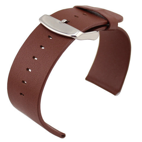 Genuine Leather Strap for Apple Watch Brown - BoardwalkBuy - 1