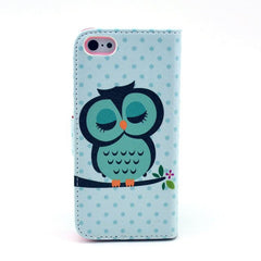 Paint Leather iPhone5 Case Shipping Cat - BoardwalkBuy - 2