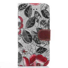 iPhone 6 Wallet Flowers Gyrosigma Case - BoardwalkBuy - 3