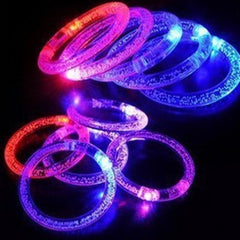 LED light-emitting armband flash safety warning outdoor sporting bracelet - BoardwalkBuy - 13
