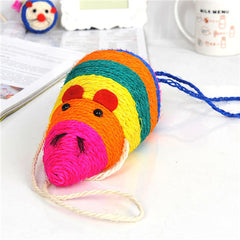 Creative Mouse Pet Cat  Huge Funny Playing Toys  Color Random