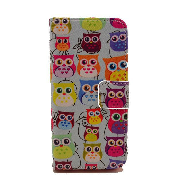 Painting Leather iPhone 5 Case CAT - BoardwalkBuy - 1