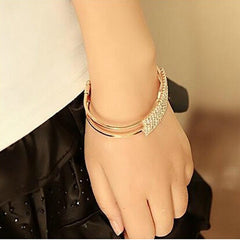 Starry Full Diamond Bracelet - BoardwalkBuy - 2
