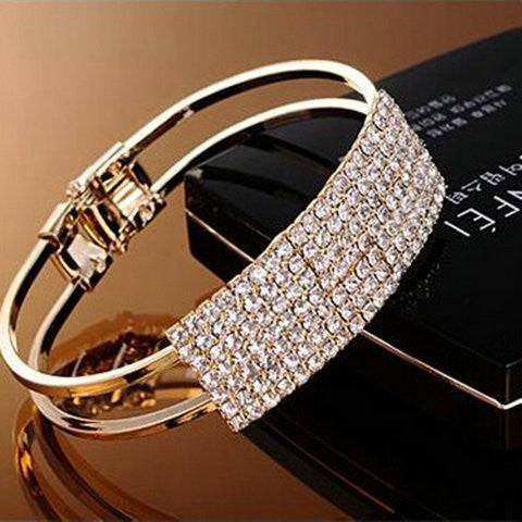 Starry Full Diamond Bracelet - BoardwalkBuy - 1