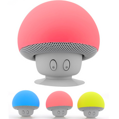 New Mini Subminiature Mushroom Portable Silicone Sucker Hands Wireless speaker mini Bluetooth Speaker BT280 - BoardwalkBuy - 1