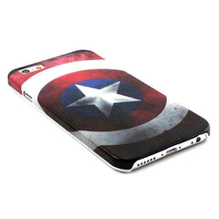 Captain America PC Hard Case for iPhone 6 - BoardwalkBuy - 2